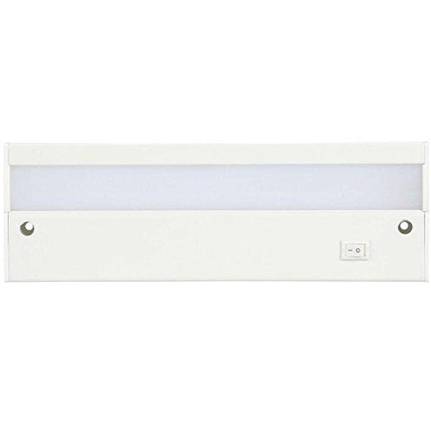 commercial electric 9 in. led white direct wire under cabinet light