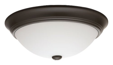 Lithonia Lighting 11983 BZ M2 D?or Round Flush Mount Ceiling Light, Bronze
