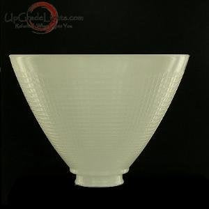 Upgradelights 8 Inch Glass Floor Lamp Reflector Shade Glass Lamp Glass - llightsdaddy - Upgradelights - Lamp Shades