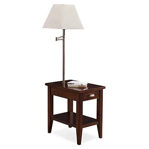 Leick 10537 Laurent Chairside lamp Table