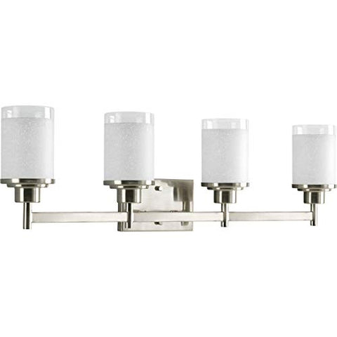 Progress Lighting P2998-09 Bath & Vanity, Brushed Nickel