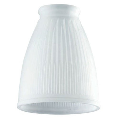 Westinghouse Lighting  8109400 Corp 4-1/4-Inch Frosted Pleated Shade - llightsdaddy - WESTINGHOUSE LIGHTING CORP - Lamp Shades