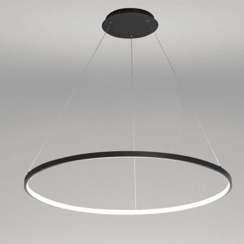 LightInTheBox Pendant Light Modern Design Living LED Ring Home Ceiling Light 20W Pendant Light for Office,Showroom,Living Room (White)