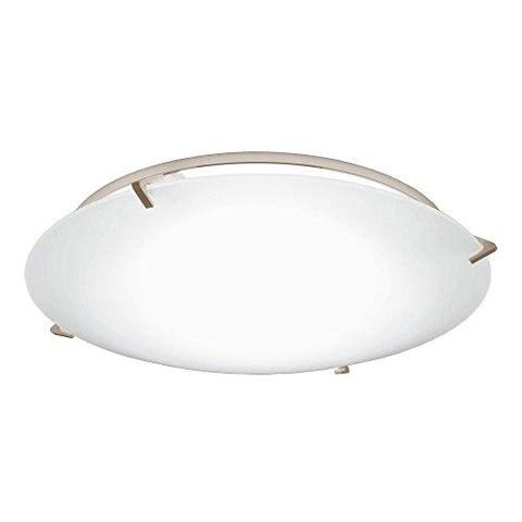 Decorative Ceiling Trim with Frosted Glass for 5 and 6 Inch Recessed Housings - llightsdaddy - Dolan Designs - Ceiling Lights