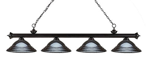 4 Light Billiard Light 200-4BRZ-SGM