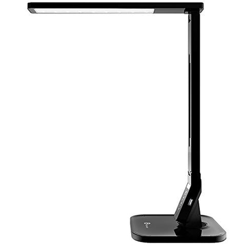 TaoTronics LED Desk Lamp with USB Charging Port, 4 Lighting Modes with 5 Brightness Levels, 1h Timer, Touch Control, Memory Function, Black, 14W, Official Member of Philips EnabLED Licensing Program - llightsdaddy - TaoTronics - Seasonal Sales