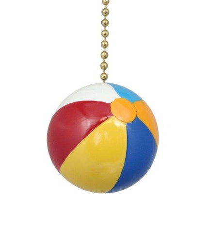 Clementine Design Beach Ball Ceiling Fan Pull - llightsdaddy - Clementine Designs - Pull Chains