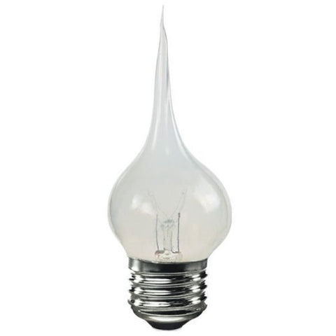 Bulbrite SF/7.5S11 Silicone Dipped 7.5W  E26 Chandelier Bulb, Medium Base - llightsdaddy - Bulbrite - LED Bulb