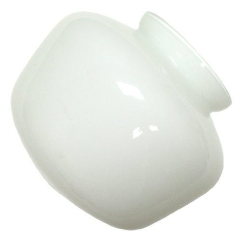 "Westinghouse 81592 Glass Shade, White 4.625"" L x 5.75"" W 3.25"" - llightsdaddy - Westinghouse - Fixture Replacement Globes & Shades"