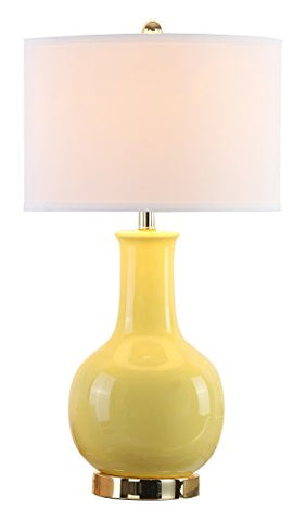 Safavieh Ceramic Table Lamp, Yellow