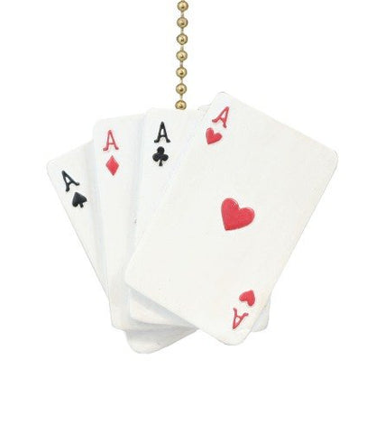 Clementine Design Aces Playing Cards Ceiling Fan Pull - llightsdaddy - Clementine Deisgn - Pull Chains