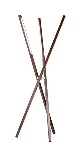 NOVA of California 2711178PC Jackknife Lamp, Tripod Floor - llightsdaddy - NOVA of California - Lamp Shades