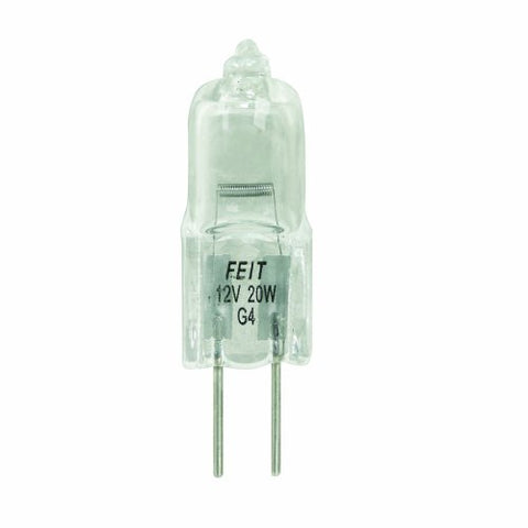 Feit Electric BPQ20T3 20-Watt T3 Halogen Bulb with Bi-Pin Base, Clear - llightsdaddy - Feit Electric - Wall Plates