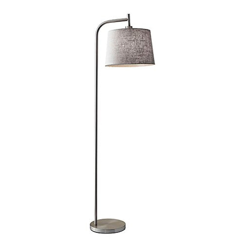 "Adesso 4071-22 Blake 58"" Floor Lamp, Smart Outlet Compatible"