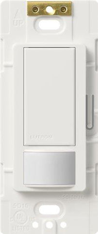 Lutron MS-OPS6M2-DV-WH Maestro 6-Amp Multi-Dual Sensing Switch Electrical Distribution Switcher, White - llightsdaddy - Lutron - LED Bulb