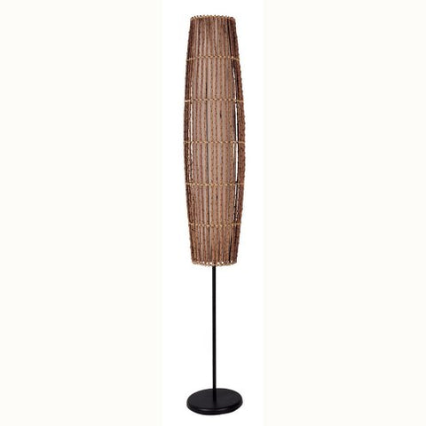 ORE International 31140F Rattan Floor Lamp - llightsdaddy - ORE - Lamps