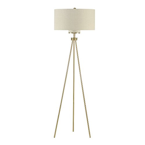 Ink+Ivy Pacific Tripod Floor lamp Modern Floor lamp Gold