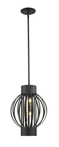 3 Light Pendant 436-12BRZ - llightsdaddy - Z-Lite - Pendant Lights