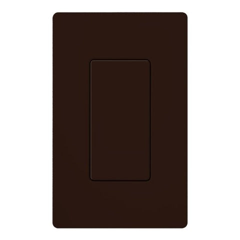 Lutron DV-BI-BR Electrical Wall Plate, Diva Blank Insert, Gloss Finish - Brown - llightsdaddy - Lutron - Wall Plates