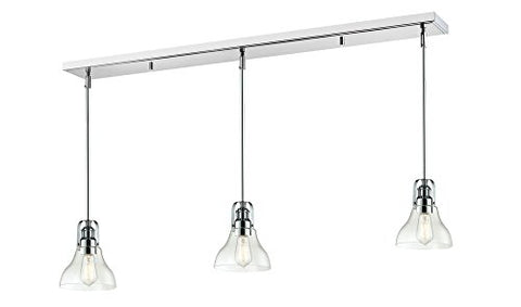 3 Light Island/Billiard Light 321-8MP-3CH - llightsdaddy - Z-Lite - Pendant Lights