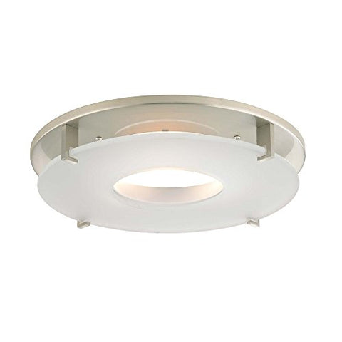 Satin Nickel Decorative Trim for 5 and 6 Inch Recessed Housings - llightsdaddy - Dolan Designs - Ceiling Lights