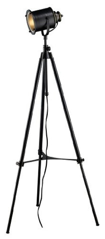 Dimond D1735 Ethan Adjustable Tripod Floor Lamp, Restoration Black - llightsdaddy - Dimond Lighting - Lamps