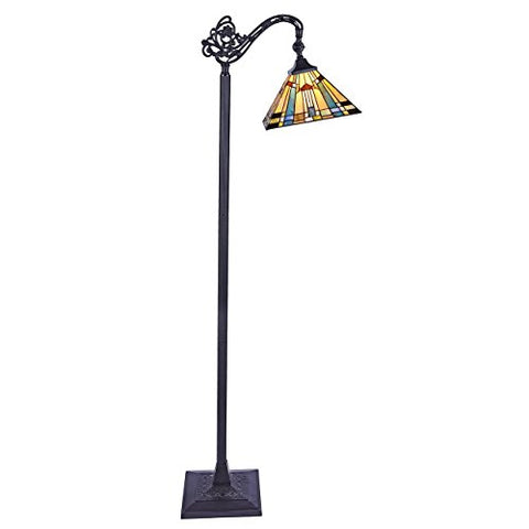 Chloe Lighting CH33293MS11-RF1 Reading Floor Lamp - llightsdaddy - Chloe Lighting - Lamp Shades