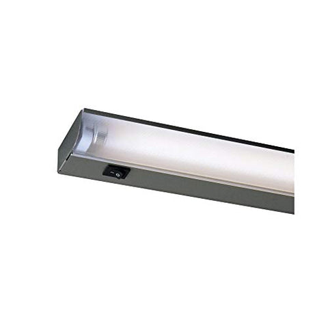 "Fluorescent 22"" Wide Silver Under Cabinet Light by Juno - llightsdaddy - Juno - Under-Cabinet Lights"