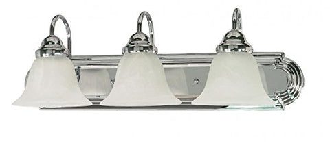 Nuvo Lighting 60/317 Three Light Vanity, Medium, Chrome