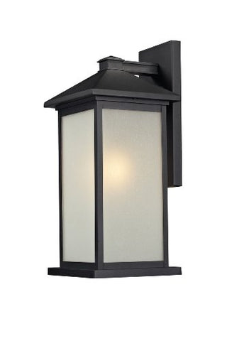 Z-Lite 547B-BK One Light Outdoor Light - llightsdaddy - Z-Lite - Post Lights