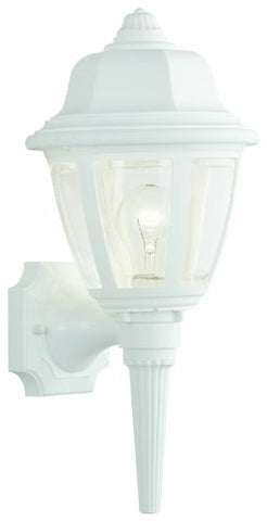 Thomas Lighting SL94428 Essentials Outdoor Wall Lantern Matte White