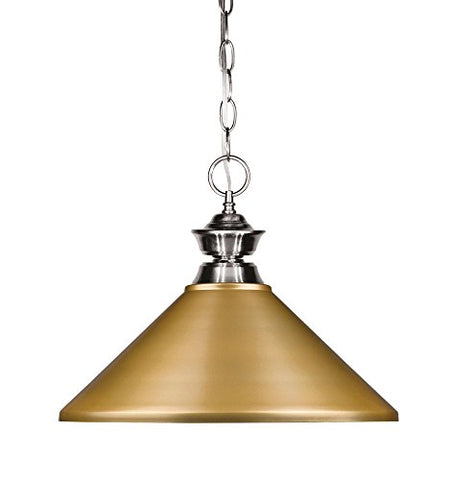 1 Light Pendant 100701BN-MSG