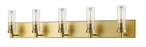 5 Light Vanity Light 3000-5V-SG - llightsdaddy - Z-Lite - Vanity Lights