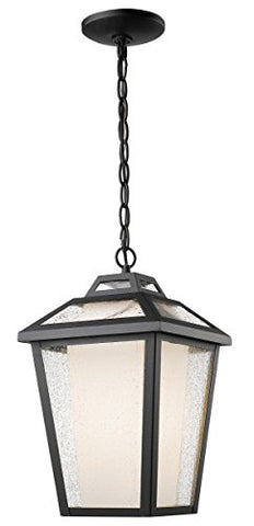 1 Light Outdoor Chain Light 532CHM-BK