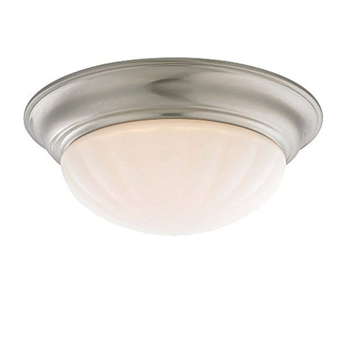Decorative Ceiling Trim for Recessed Lights with Melon Glass - llightsdaddy - Dolan Designs - Ceiling Lights