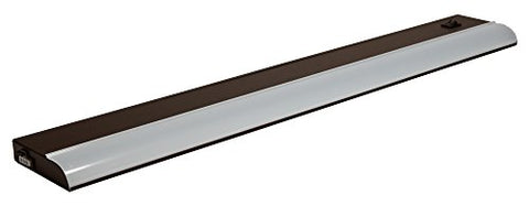 American Lighting LUC-24-DB LED Contrax Under Cabinet Light Fixture, Dimmable, 9-Watts, 24-1/2-Inch, Dark Bronze