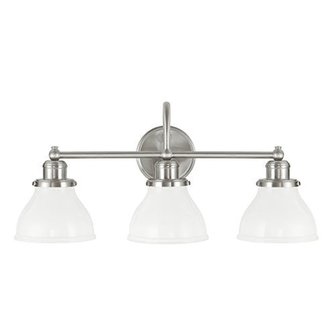 Capital Lighting 8303BN-128 Three Light Vanity - llightsdaddy - Capital Lighting - Vanity Lights