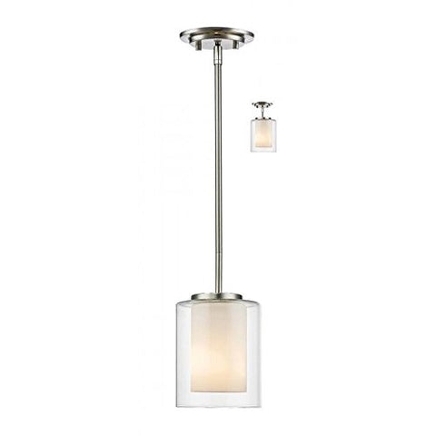 1 Light Mini Pendant 426MP-BN - llightsdaddy - Z-Lite - Pendant Lights