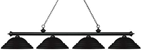 4 Light Island/Billiard Light 200-4MB-SMB  Z-Lite Billiard & Pool Table Lights llightsdaddy.myshopify.com lightsdaddy