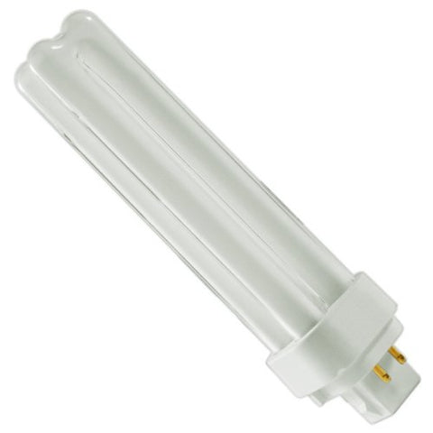 GE 97601 - F18DBX/841/ECO4P - 18 Watt Quad-Tube Compact Fluorescent Light Bulb, 4 Pin, 4100K