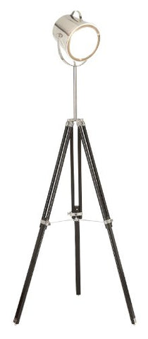 Benzara 95782 Unique Wooden Metal Glass Floor Studio Lamp, 64-Inch - llightsdaddy - Benzara - Lamps