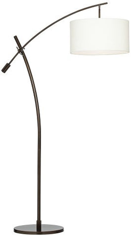 Possini Euro Bronze Finish Boom Arched Floor Lamp - llightsdaddy - Possini Euro Design - Lamp Post Bases
