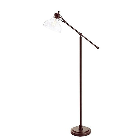 Hampton Bay 20045-001 Oil Rubbed Bronze Counter Balance Floor Lamp, 54.5 in. - llightsdaddy - Hampton Bay - Lamp Shades