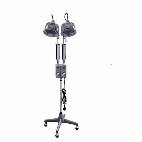 SoloLife TDP Portable Lamp Floor Standing Infrared Heat Adjustable 230W*2 Two Head Independent Head Double System Portable Lamp 110V TDP-27AT - llightsdaddy - SOLOLIFE - Lamp Shades