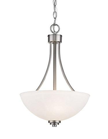 3 Light Pendant 443P-BN - llightsdaddy - Z-Lite - Pendant Lights