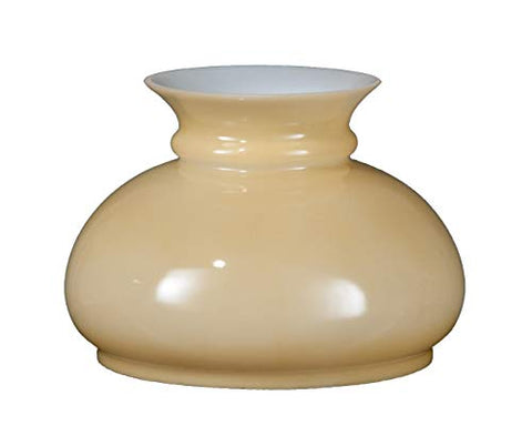 B&P Lamp Opal Glass Shade, Buff Nu-Gold Background - llightsdaddy - B&P Lamp - Fixture Replacement Globes & Shades