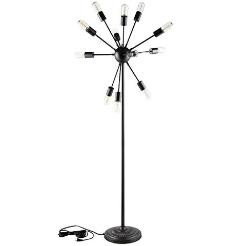 Modway Spectrum Floor Lamp In Black