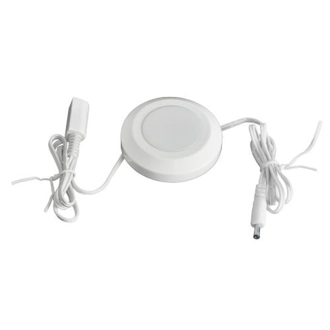 Ecolight AC1012-WHG-03LF1-E White Single Under Puck Kit - llightsdaddy - Ecolight - Under-Cabinet Lights