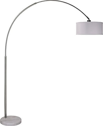 SH Lighting Milton Greens Stars Sophia Adjustable Arc Floor Lamp with Marble Base, 81-Inch - llightsdaddy - SH Lighting - Lamp Shades
