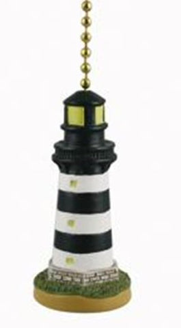 Coastal Lighthouse Ceiling Fan Pull